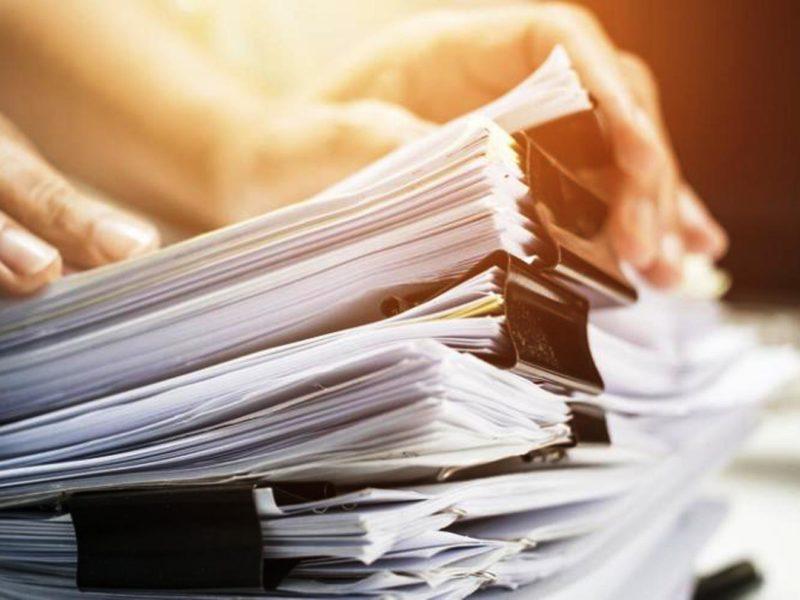 Confinés ou en couvre-feu ? Pourquoi ne pas trier vos papiers ?