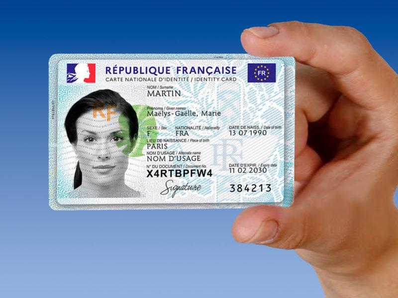 La nouvelle carte d'identité